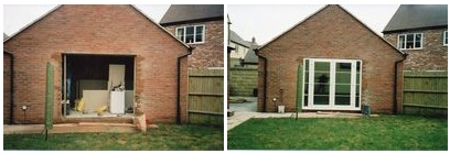 Garage conversions u recommended builders swindon